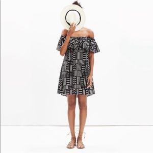 Madewell Arrow Grid Dress, EUC ⚠️MOVING SALE⚠️